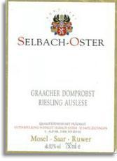 2003 Selbach Oster Graacher Domprobst Riesling Auslese