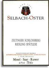 2011 Selbach Oster Zeltinger Schlossberg Riesling Spatlese