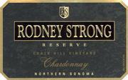 2012 Rodney Strong Vineyards Chardonnay Reserve