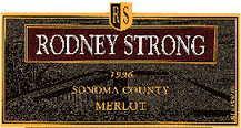 1999 Rodney Strong Vineyards Merlot Sonoma County