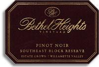 2011 Bethel Heights Vineyard Pinot Noir Southeast Block Reserve Willamette Valley