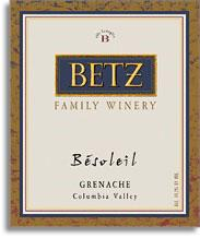 2008 Betz Family Vineyards Besoleil Columbia Valley