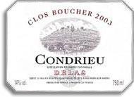 2009 Delas Freres Condrieu Clos Boucher