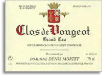 1996 Domaine Denis Mortet Clos De Vougeot