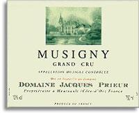 2002 Domaine Jacques Prieur Musigny