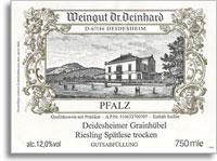 2009 Dr. Deinhard Deidesheimer Grainhubel Riesling Spatlese Trocken