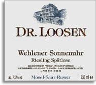 2011 Dr. Loosen Wehlener Sonnenuhr Riesling Spatlese