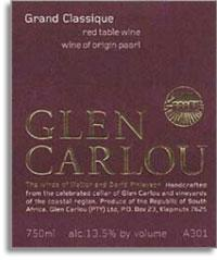 2007 Glen Carlou Grande Classique Paarl