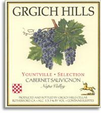 2005 Grgich Hills Cellars Cabernet Sauvignon Yountville Selection Napa Valley