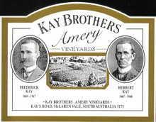 1998 Kay Brothers Amery Shiraz Mclaren Vale