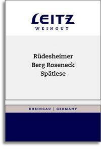 Vv Josef Leitz Rudesheimer Berg Roseneck Riesling Spatlese