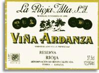 2004 La Rioja Alta Vina Ardanza Rioja Reserva