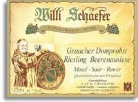 2005 Willi Schaefer Graacher Domprobst Riesling Beerenauslese