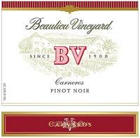 2011 Beaulieu Vineyard (BV) Pinot Noir Carneros