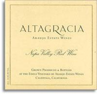 2005 Araujo Estate Altagracia Red Wine Napa Valley
