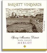 2010 Barnett Vineyards Merlot Spring Mountain District