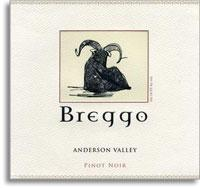 2011 Breggo Cellars Pinot Noir Anderson Valley
