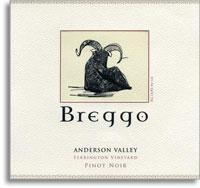 2009 Breggo Cellars Pinot Noir Ferrington Vineyard Anderson Valley