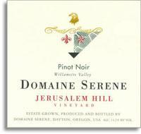 2010 Domaine Serene Pinot Noir Jerusalem Hill Eola-Amity Hills