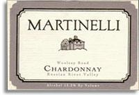 2005 Martinelli Winery Chardonnay Woolsey Road Russian River Valley