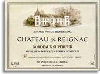 2012 Reignac Bordeaux Superieur Cheteau de Reignac