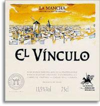 2003 Bodegas Alejandro Fernandez El Vinculo Crianza La Mancha