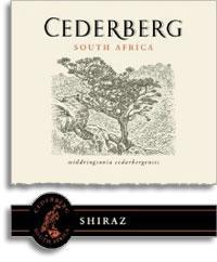 2010 Cederberg Shiraz Cederberg