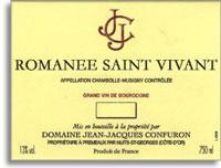 2012 Domaine Jean-Jacques Confuron Romanee Saint-Vivant