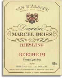 2004 Domaine Marcel Deiss Riesling Engelgarten