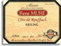 2010 Domaine Rene Mure/Clos St. Landelin Riesling Cote de Rouffach