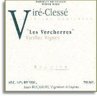 2010 Jean Rijckaert Vire-Clesse Les Vercherres Vieilles Vignes