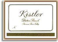 2007 Kistler Vineyards Chardonnay Dutton Ranch Russian River Valley