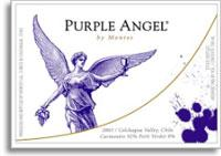 2011 Montes Purple Angel Carmenere Colchagua Valley
