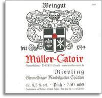 2010 Muller-Catoir Gimmeldinger Mandelgarten Riesling Spatlese