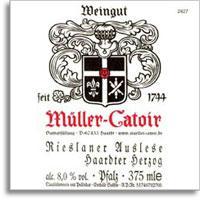 2009 Muller-Catoir Haardter Herzog Rieslaner Auslese