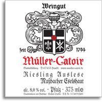 2004 Muller-Catoir Mussbacher Eselshaut Riesling Auslese
