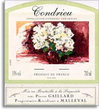 2003 Pierre Gaillard Condrieu