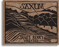 2011 Saxum Vineyards James Berry Vineyard Paso Robles