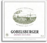 2011 Schloss Gobelsburg Gruner Veltliner