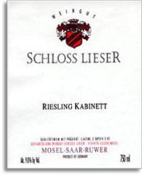 2011 Schloss Lieser Riesling Kabinett
