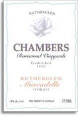 NV Chambers Rosewood Winery Muscadelle Rutherglen