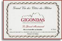 2010 Domaine Brusset Gigondas Tradition Le Grand Montmirail