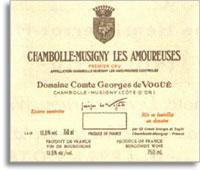 1995 Domaine Comte Georges de Vogue Chambolle-Musigny Les Amoureuses