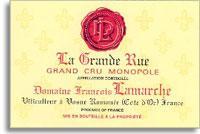2012 Domaine Francois Lamarche La Grande Rue