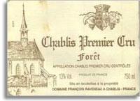 2014 Domaine Francois Raveneau Chablis Foret
