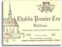 2014 Domaine Francois Raveneau Chablis Vaillons