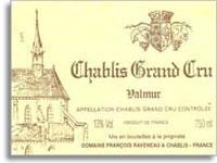 2012 Domaine Francois Raveneau Chablis Valmur
