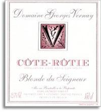 2009 Domaine Georges Vernay Cote-Rotie Blonde du Seigneur