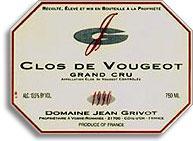 2003 Domaine Jean Grivot Clos De Vougeot