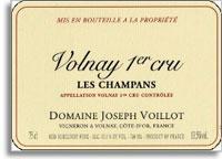 2014 Domaine Joseph Voillot Volnay Les Champans
